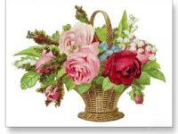 Motivos florais na decoração