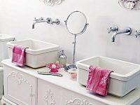 Romantismo no banheiro