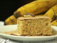 Bolo saúde: bolo de banana