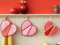 Pegadores de panelas românticos