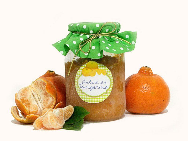 Geleia de tangerina caseira