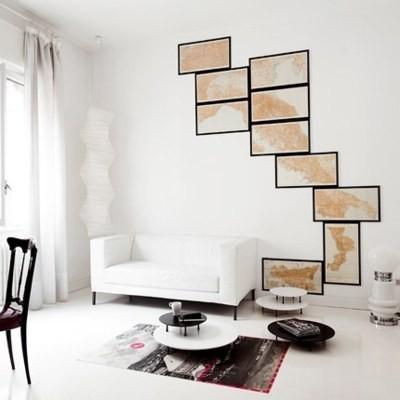 World Map Map Wallpaper Maps Framed Maps Map Art Interior Design And Home  Decor Crafts DIY Wall Art Living Room Via Pinterest Part 88