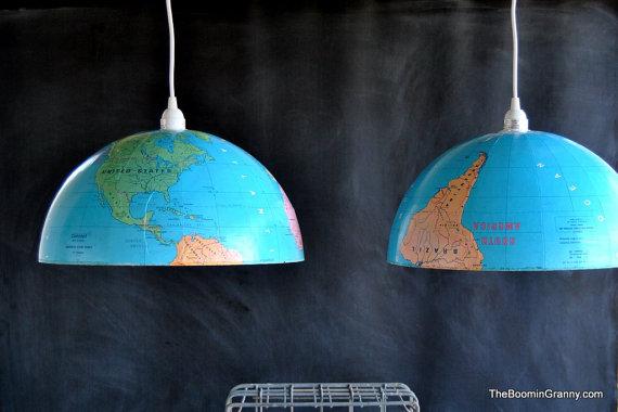 Globo Iluminado: luminária criativa
