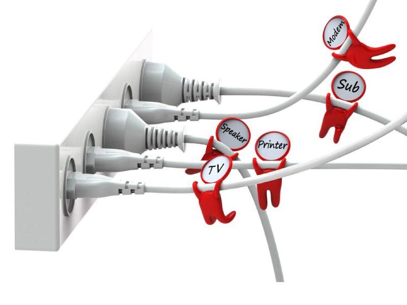 Organizadores de fios