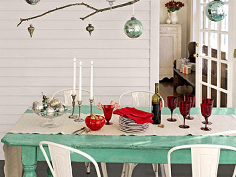 Como arrumar a mesa de Natal?