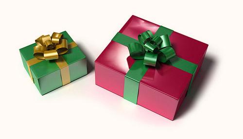 presentes para o natal