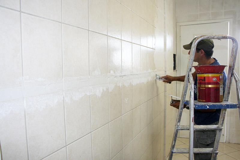 Retirar gordura de azulejo de cozinha for Azulejo sobre azulejo