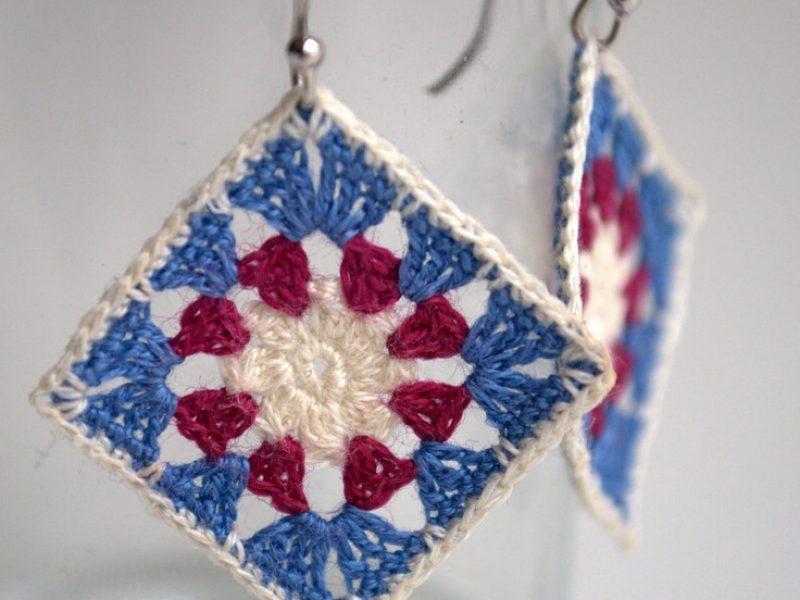 Quadrados de crochê (square)