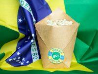 Clima de Copa do Mundo: Sacos de Papel para Petiscos