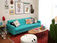 Meu sofá tão, tão lindo