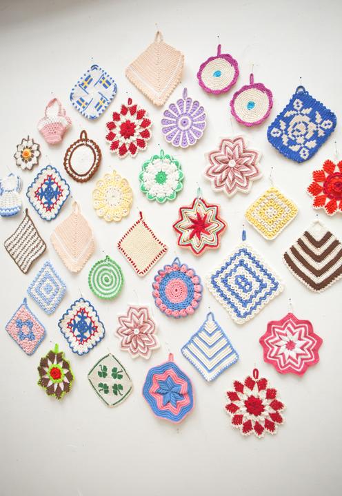 A arte de colorir a casa com crochê
