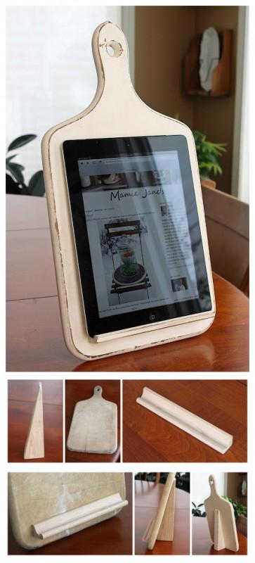 Porta tablet para cozinha