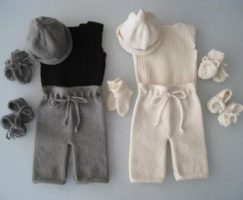 Novos tons para as roupas de bebê