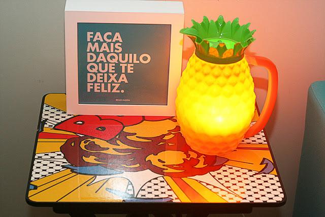 Abacaxi da Dona Nenê – uma luminária divertida