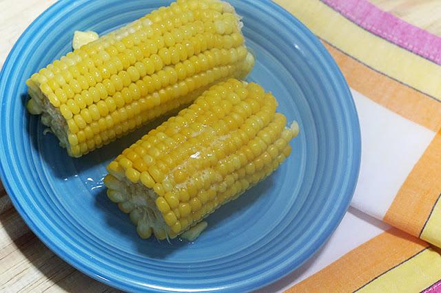 Milho verde cozido em 5 minutos