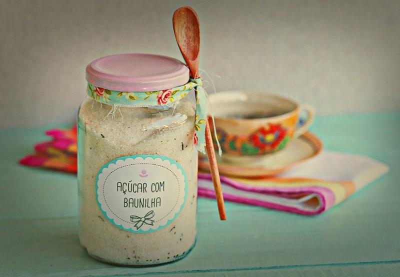 Presente criativo: Açúcar com baunilha