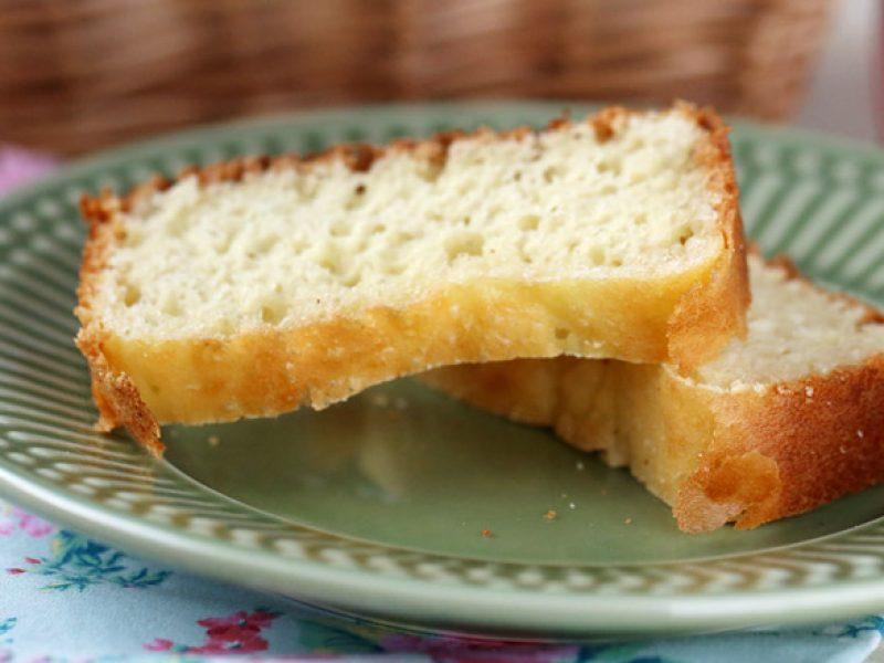 Pão sem glúten e sem lactose de liquidificador
