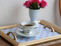 Presente para o Dia das Mães: bandeja para café