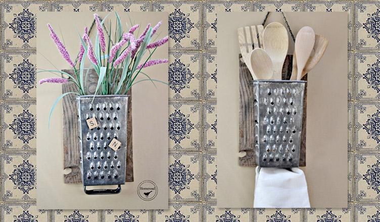 Ralador: um detalhe vintage na decoração da cozinha