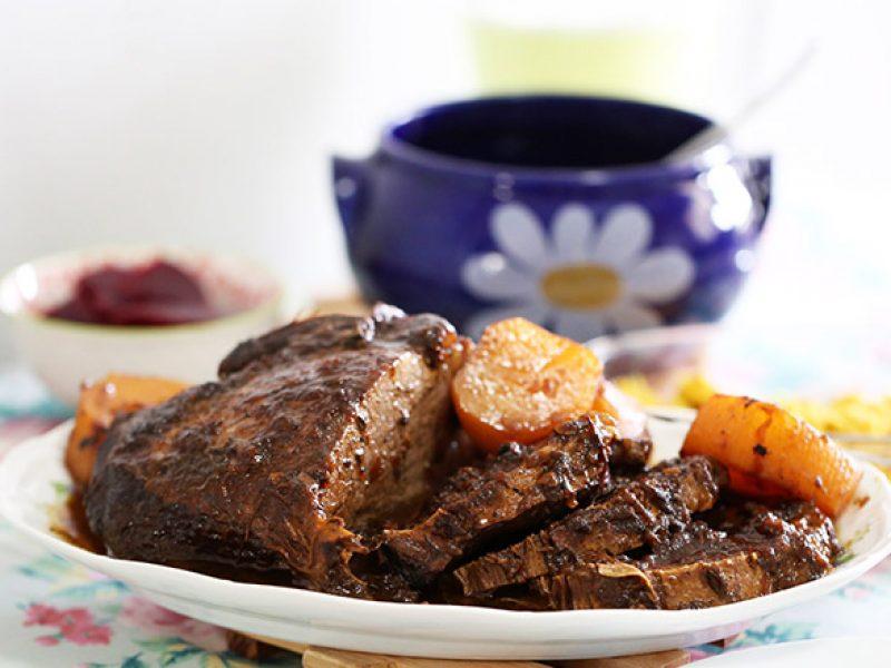 Receita de carne assada ou carne de panela