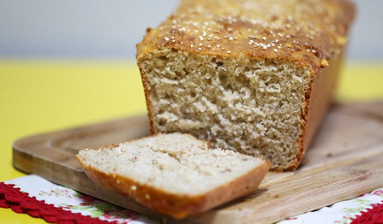 Receita de pão de quinoa e castanha do pará