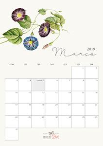 Calendário 2019 março