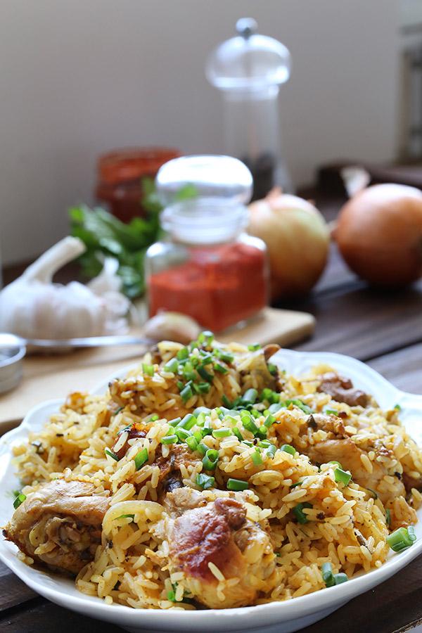 receita de galinhada