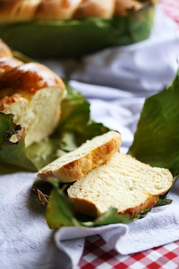 pão de trança