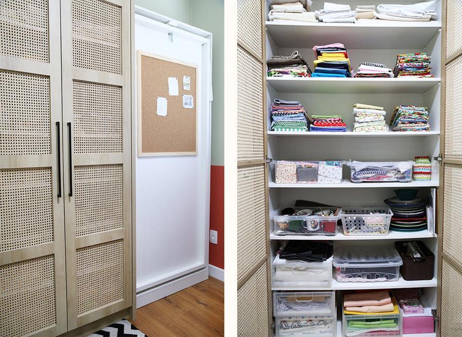 atelie e Home office pequeno planejado