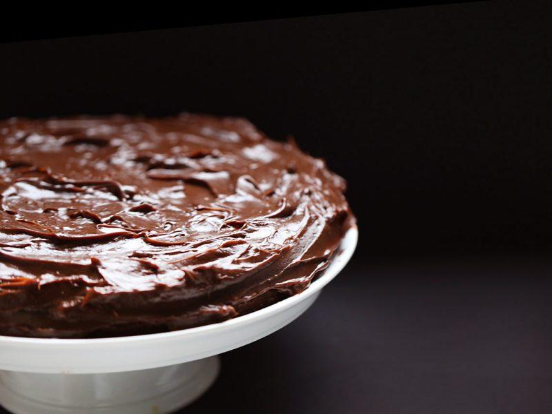 Bolo de chocolate com café: muito fácil de fazer