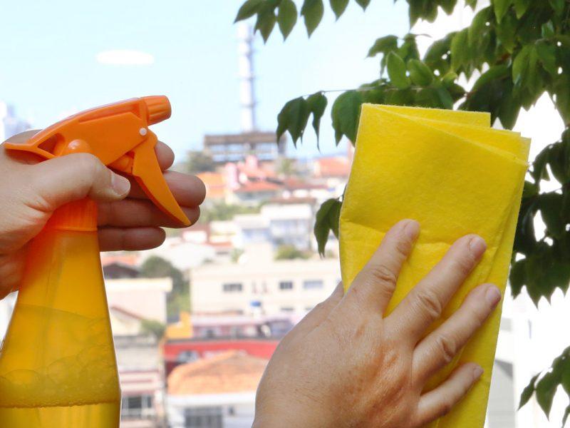 Limpa vidro caseiro: barato e fácil de fazer