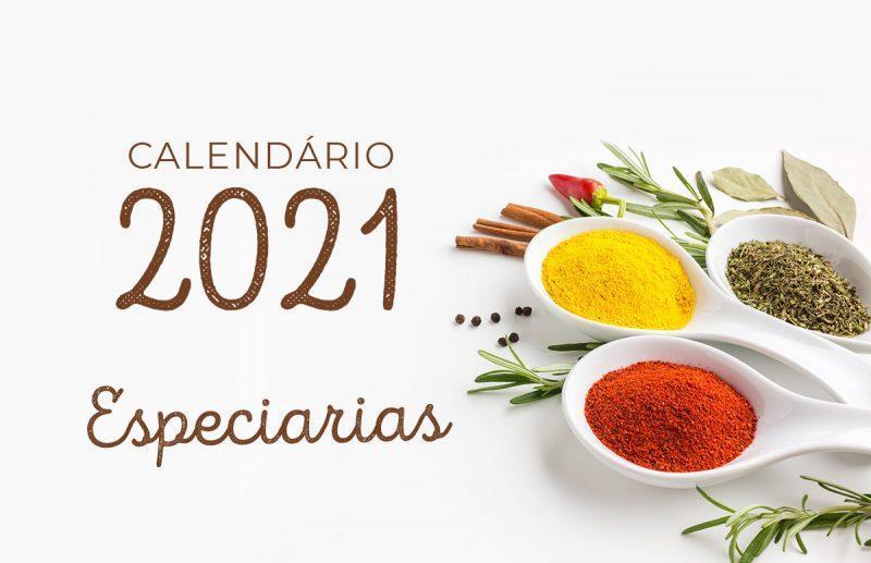 Calendário 2021 – Especiarias
