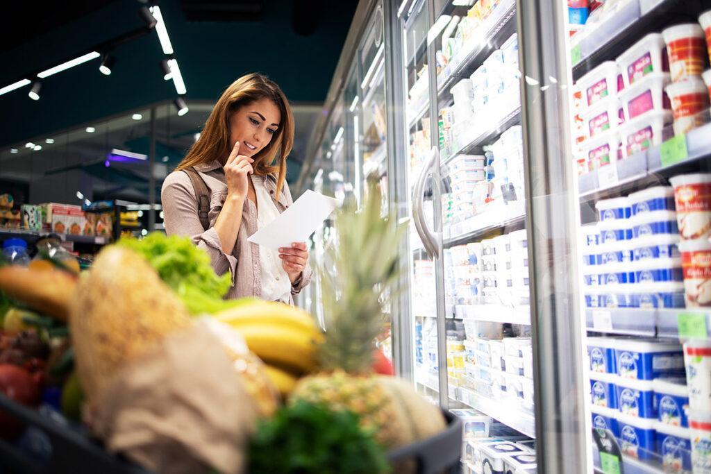 economia doméstica supermercado