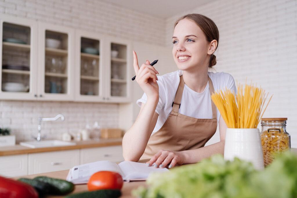 economia doméstica lista de compras