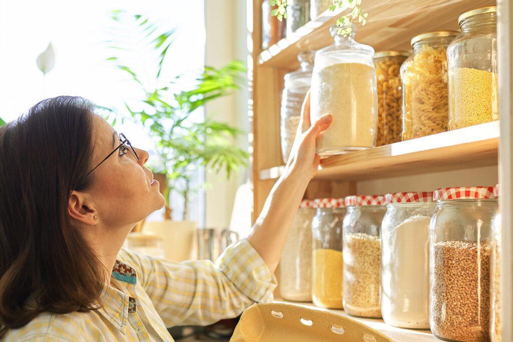 economia doméstica armazenar